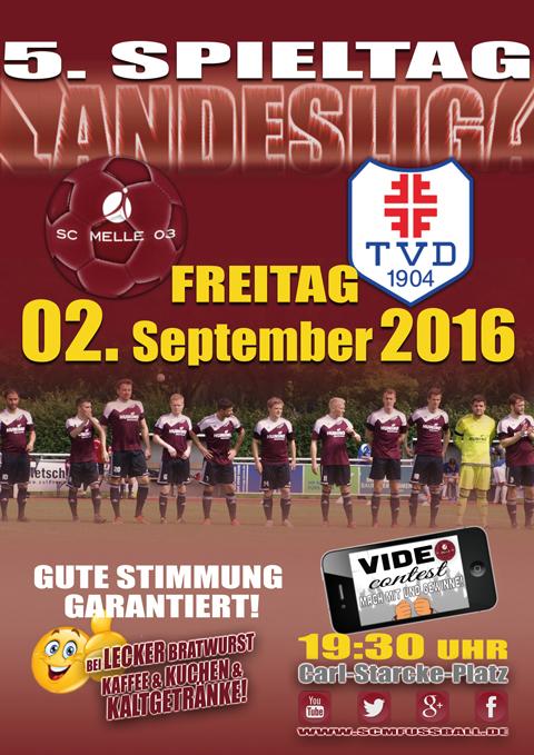 SC MELLE 03 Fussball Landesliga 5. Spieltag
